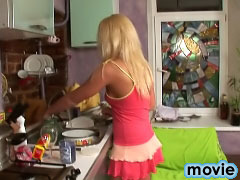 Gorgeous teenie sweetie blonde gets getting screwed