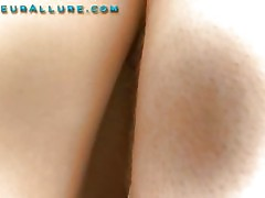 Stunning Legal Age Teenager Gets a Huge Facial