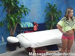 Sex appeal chick next door is having sex with masseur on webcam
