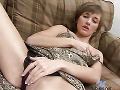 Nubiles terry cums on the couch